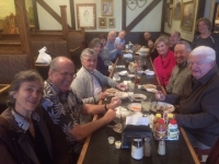 The whole gang celebrating at Harry's for the 60th reunion luncheon!