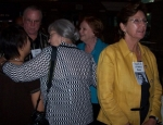 Looks like Wendy Leong Hom being hugged by Barbara Gerboth Allen. Husband Joe Allen is there, but can't ID the lady in