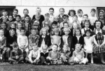 Central School Kindergarten Class, 1947 photo. See if you can find Angie Valenti, Jack Leslie, Steve Chell, Pat Gadow, B