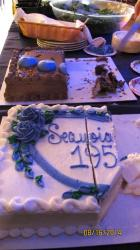 55th Reunion 8-16-2014 cakes